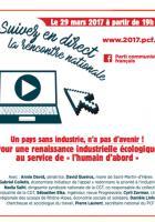 Les rencontres nationales du PCF - Pour une renaissance industrielle au service de l'Humain d'abord