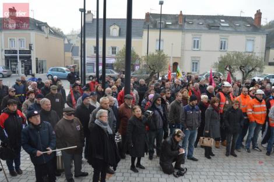 Manifestation des Ardoisiers de Trélazé